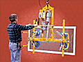 ANVER Typical Vacuum Lifters and Tilters allow one operator to perform the tasks of traditional manipulators