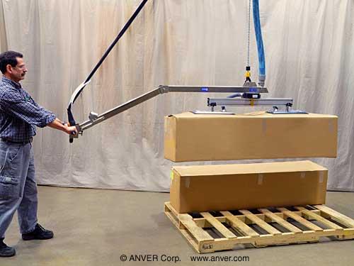 Vacuum Hoist Lifting System Handles Bulky Porous Loads